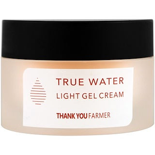 Thank You Farmer, Agua Real, Crema Gel Ligera, Todo tipo de pieles, 1.75 fl oz (50 ml)