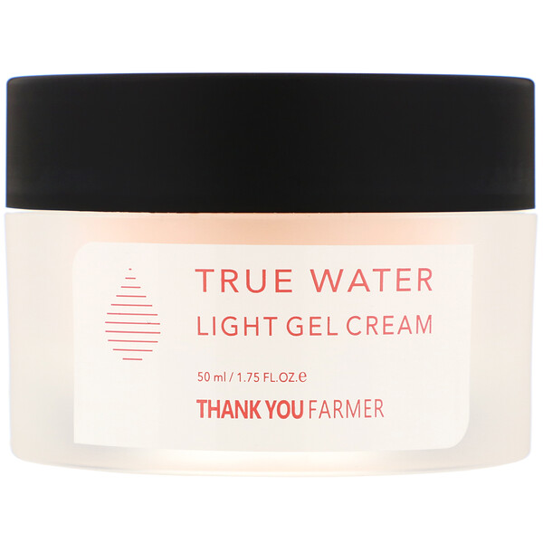 Thank You Farmer, True Water, Light Gel Cream, All Skin Types, 1.75 fl oz (50 ml) (Discontinued Item)