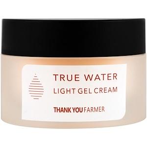 Thank You Farmer, True Water, легкий крем-гель, для всех типов кожи, 50 мл (1,75 унций) купить на iHerb