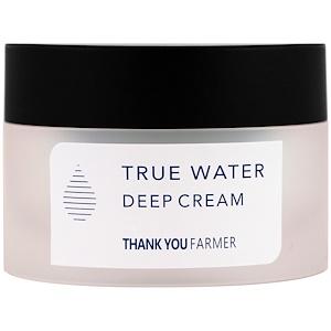 Thank You Farmer, Настоящая вода, глубоко увлажняющий крем, 1,75 жидк. унц. (50 мл) купить на iHerb