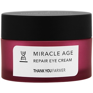 Thank You Farmer, Milagro Antiedad, Crema reparadora para ojos, 0.70 oz (20 g)