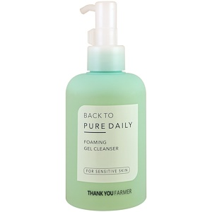 Thank You Farmer, Back to Pure Daily, Foaming Gel Cleaner, For Sensitive Skin, 7.03 fl oz (200 ml) купить на iHerb