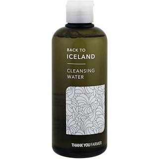 Thank You Farmer, Назад в Исландию, очищающая вода, 9,15 ж.унц. (260 мл)