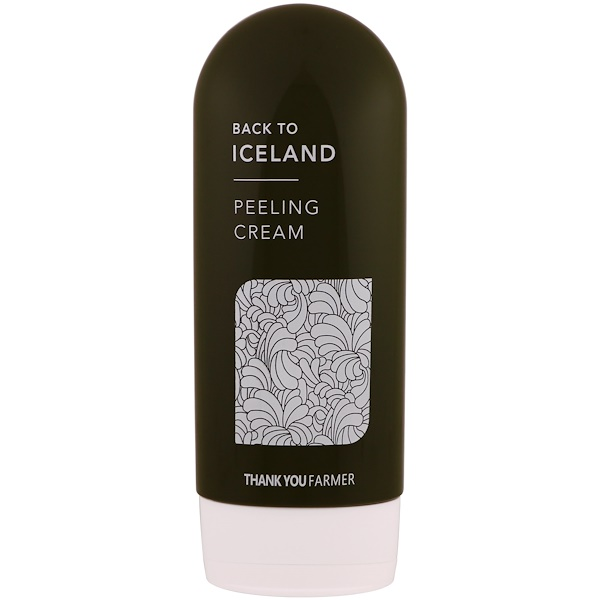 Thank You Farmer, Back to Iceland, Peeling Cream, 5.27 fl oz (150 ml) (Discontinued Item)