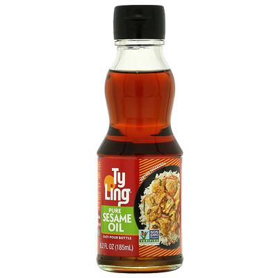 Ty Ling Pure Sesame Oil, 6.2 fl oz ( 185 ml)