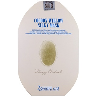 23 Years Old, Cocoon Willow Silky Mask, 1 Sheet