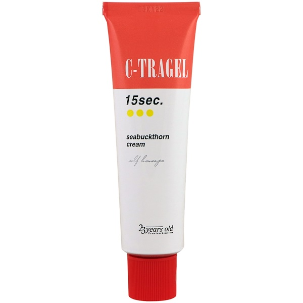 23 Years Old, C-Tragel, 15 Sec. Crème d'argousier, 50 g (Discontinued Item)