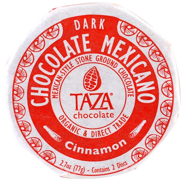 Taza Chocolate, Chocolate Mexicano, Cinnamon, 2 Discs (Discontinued Item)