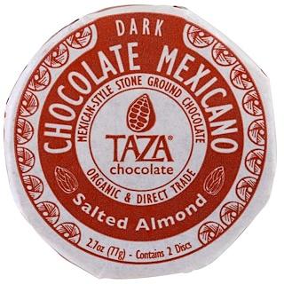 Taza Chocolate, Chocolate Mexicano, Almendras saladas, 2 Discos