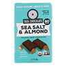 Taza Chocolate, Organic Dark Chocolate, Sea Salt & Almond, 2.5 oz (70 g)