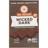 Taza Chocolate, Organic Dark Chocolate, Wicked Dark, 2.5 oz (70 g)