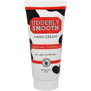 Udderly Smooth, Hand Cream, Original Formula, 2 oz (57 g)