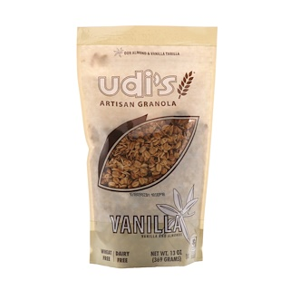 Udi's, Artisan Granola, Vanilla, 13 oz (369 g)