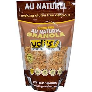 Udi's, グルテンフリーグラノラ、自然、 12オンス (340 g)