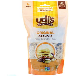 Udi's, Gluten Free Granola, Original, 11 oz (312 g)