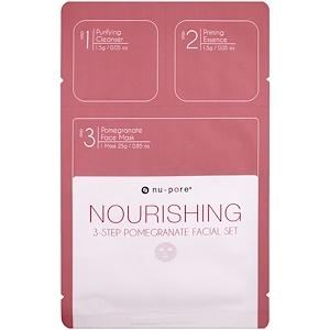 Юнайтэд Эксчэндж, Nourishing 3-Step Pomegranate Facial Set, 1 Pack отзывы покупателей