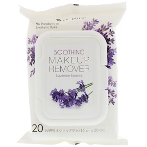 Юнайтэд Эксчэндж, Soothing Makeup Remover, Lavender Essence, 20 Wipes отзывы покупателей
