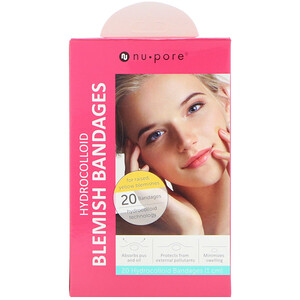 Юнайтэд Эксчэндж, Hydrocolloid Blemish Bandages for Raised, Yellow Blemishes, 20 Bandages отзывы покупателей