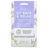 Nu-Pore, Sit Back & Relax Beauty Sheet Face Mask, Lavender, 1 Sheet, 1.05 oz (29.7 g)