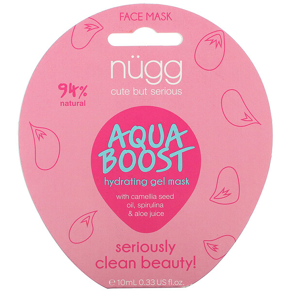 Aqua Boost Hydrating Gel Mask, 0.33 fl oz (10 ml)