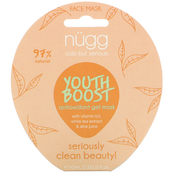Nugg, Youth Boost Antioxidant Gel Mask,  0.33 fl oz (10 ml)