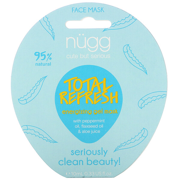 Total Refresh Energizing Gel Mask, 0.33 fl oz (10 ml)