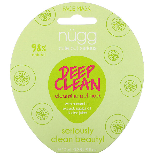 Deep Clean Cleansing Gel Mask, 0.33 fl oz (10 ml)