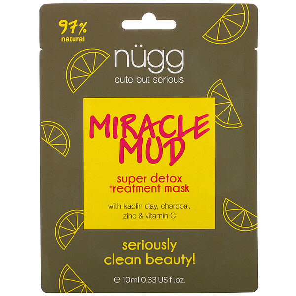 Miracle Mud, Super Detox Treatment Mask, 0.33 fl oz (10 ml)