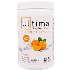 Ultima Replenisher, Electrolyte Powder, Orange, 10.8 oz (306 g)