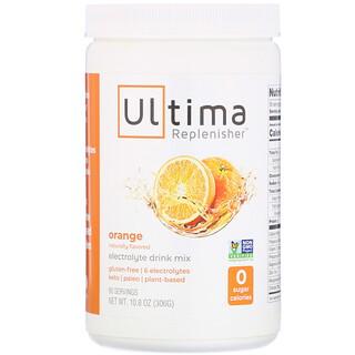 Ultima Replenisher, Mezcla para preparar bebidas con electrolitos, Naranja, 306g (10,8oz)