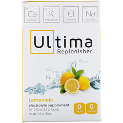 Ultima Replenisher, Lemonade, 20 Packets, 0.12 oz (3.5 g) Each