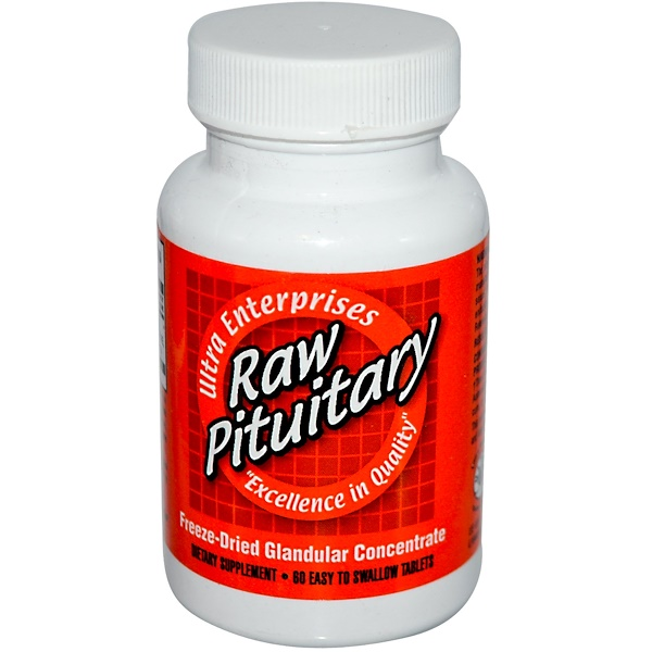 Ultra Glandular Enterprises, Raw Pituitary, 60 Easy-To-Swallow Tablets (Discontinued Item)