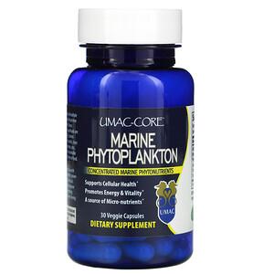 Умак-Кор, Marine Phytoplankton, 30 Veggie Capsules отзывы покупателей