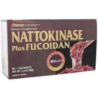 Umeken, Nattokinase Plus Fucoidan, 60 Packets, 1.6 g Each
