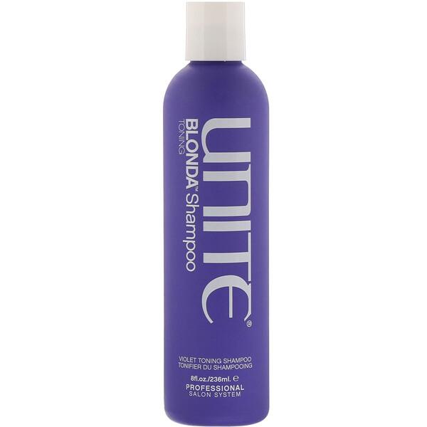 Unite, BLONDA Toning Shampoo, 8 fl oz (236 ml) (Discontinued Item)