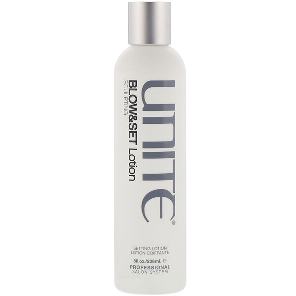 Unite, BLOW&SET Sculpting Lotion, 8 fl oz (236 ml) (Discontinued Item)