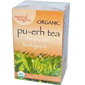 Анкл Лис Ти, Organic Pu-erh Tea, 18 Tea Bags, 1.14 oz (32.4 g) отзывы покупателей