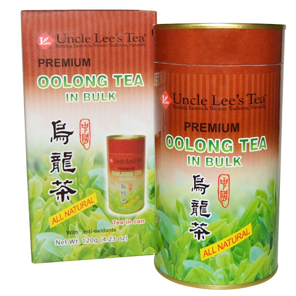 Uncle Lee's Tea, 高級散裝烏龍茶,4、23 oz (120 g)
