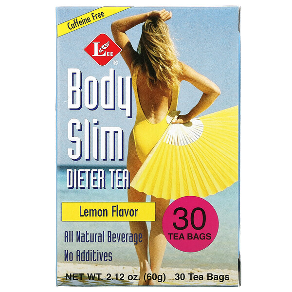 Body Slim Dieter Tea, Caffeine Free, Lemon , 30 Tea Bags, 2.12 oz (60 g)