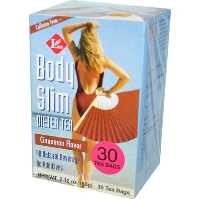 Стройное тело, чай для похудения, со вкусом корицы, 30 чайных пакетиков, 2,43 унции (69 гр)