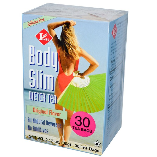 Body Slim Dieter Tea, Original Flavor, Caffeine Free, 30 Tea Bags, 2.12 oz (60 g)