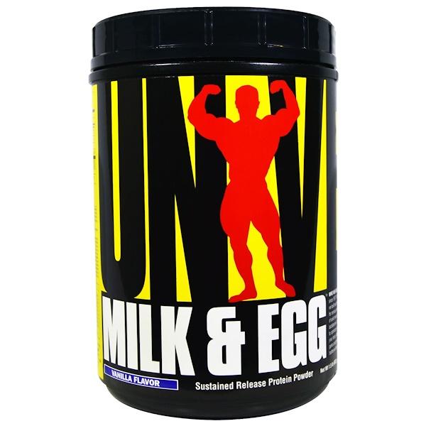 Universal Nutrition, Milk & Egg, Vanilla Flavor, 1.5 lb (682 g) (Discontinued Item)
