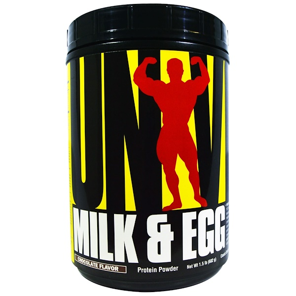 Universal Nutrition, Milk & Egg, Chocolate Flavor, 1.5 lb (682 g) (Discontinued Item)
