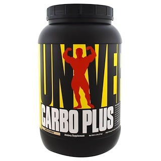 Universal Nutrition, Carbo Plus, High-Energy Complex Carbohydrate Drink Mix, Unflavored, 2.2 lb (1 kg)