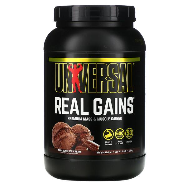 ريل جينس، الوزن الرابح، آيس كريم الشوكولاته، 3.8 رطل (1.73 كجم)