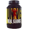 Universal Nutrition, Real Gains, Weight Gainer, Banana Ice Cream, 3.8 lb (1.73 kg) (Discontinued Item)