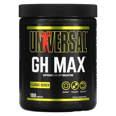 Купить Universal Nutrition Classic Series, GH Max, добавка для оптимизации гормона роста, 180таблеток