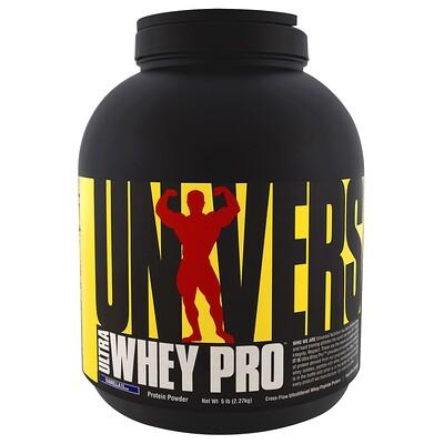 Ultra Whey Pro, белковый порошок, ванильное мороженое, 5 фунтов (2,27 кг)