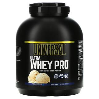 Universal Nutrition, Ultra Whey Pro, Protein Powder, Vanilla Ice Cream, 5 lbs (2.27 kg)