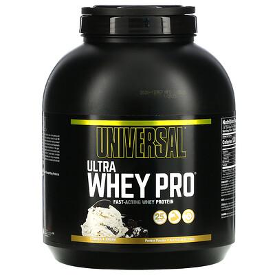 Universal Nutrition Ultra Whey Pro, белковый порошок, печенье и крем, 2,27 кг (5 фунтов)